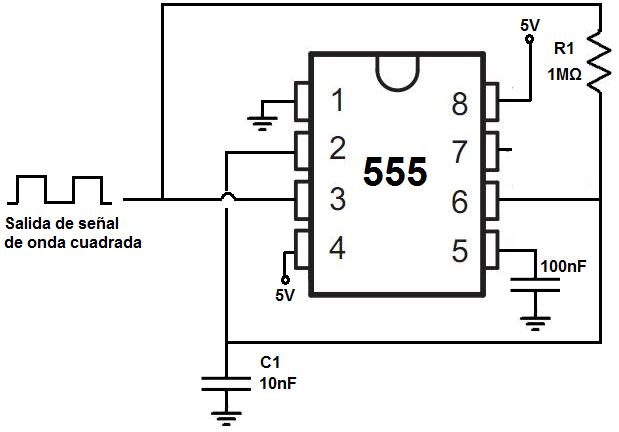 Circuito Oscilador : Cómo construir un oscilador con temporizador en