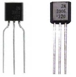 Diferencia entre los transistores NPN y PNP