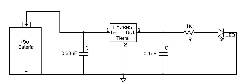 Circuito Regulador De Voltaje : Cómo conectar un regulador de voltaje en circuito