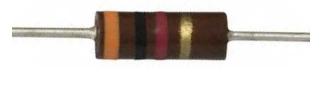 Resistor de Composición de Carbono