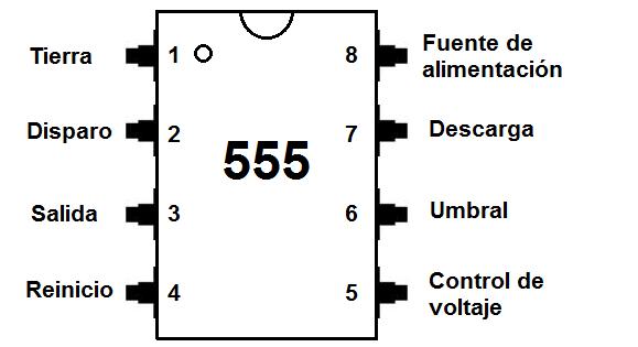 Circuito Integrado 555 : Cómo construir un circuito temporizador con retardo