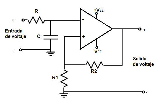Circuito Operacional : Calculadora de filtro passa baixa