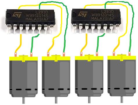 How To Build An H Bridge Circuit Control 4 Motors