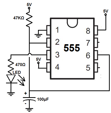 how to build a delay before turn off circuit with a 555 timer rh learningaboutelectronics com dayton off delay timer wiring diagram Off Delay Relay Circuit