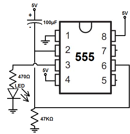 555 timer delay before turn on circuit