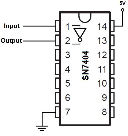 7404 inverter circuit