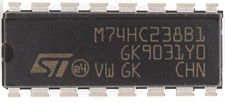 74HC238 3 to 8 decoder/demultiplexer