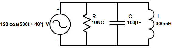 AC Circuit Analysis- Time to Frequency Domain Conversion