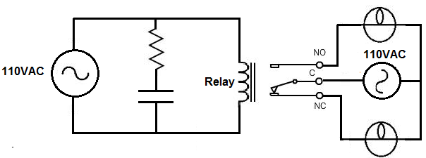AC relay driver circuit how to build a relay driver circuit ac relay wiring diagram at gsmx.co