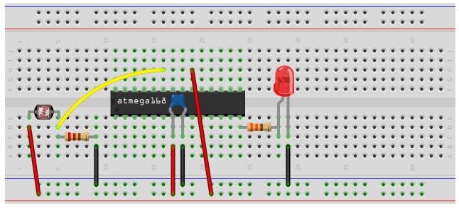How to Build an AVR Night Light Circuit
