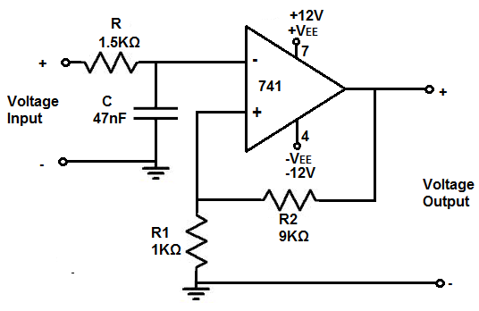 how to build an active low pass filter circuit with an op amp rh learningaboutelectronics com