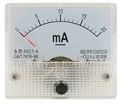 Analog 20mA current panel meter