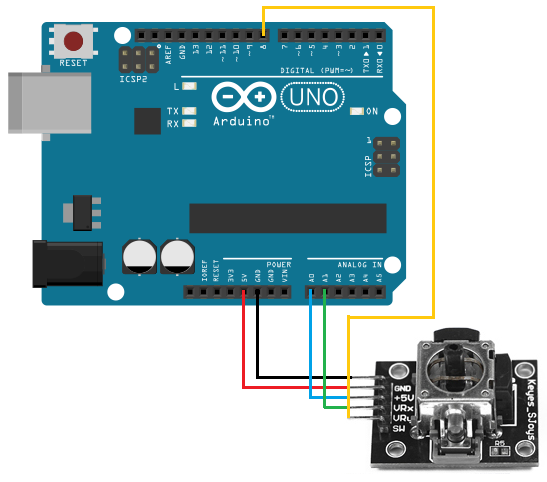 2 axis joystick wiring diagrams how to build a 2-axis joystick circuit with an arduino 2 post lift wiring diagrams #4