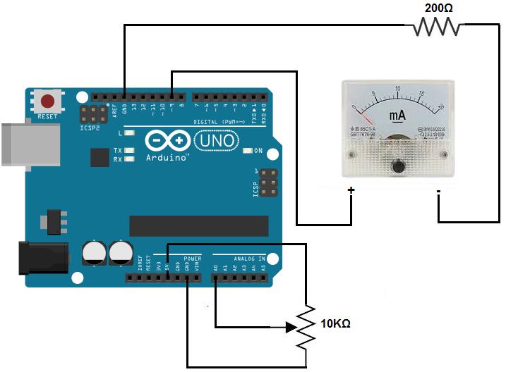 Analog Amp Meter Wiring Diagram: Arduino Ammeter Circuit Schematic - Wiring Diagram Onlinerh:6.6.12.tokyo-running-sushi.de,Design