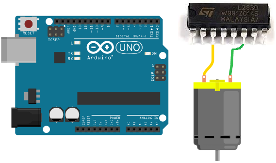 How to build an h bridge circuit with an arduino for How to build a motor controller