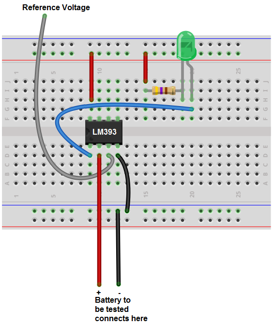 how to build a battery tester rh learningaboutelectronics com