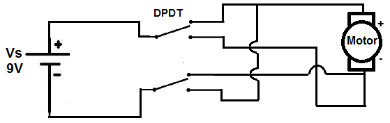 Bidirectional DC Motor Circuit