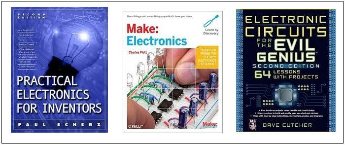 electronics project books