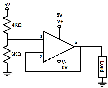 Buffer voltage stabilizer circuit