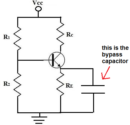 Capacitor Circuit Board Diagram on led schematic symbol