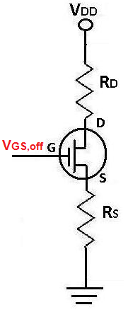Cutoff Voltage VGS,off of a JFET