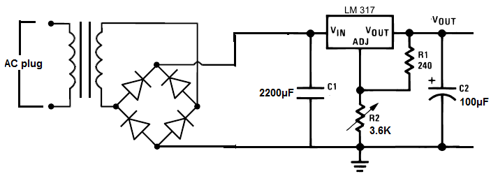 how to build a dc power supply dc power supply schematic
