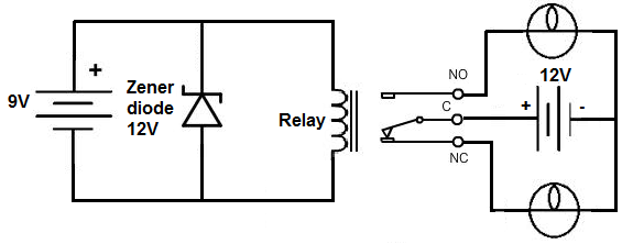 dc relay wiring wiring diagram u2022 rh tinyforge co 5v dc relay circuit diagram 12v dc relay circuit diagram