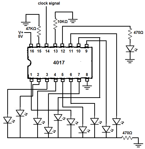 led circuit diagrams with Decade Counter Circuit With 4017 on Breadboard besides Nema79 Class1division1emergencylight in addition 414401603184128742 further Automatic Street Light Control Pic Microcontroller together with Bcdc1225 install.