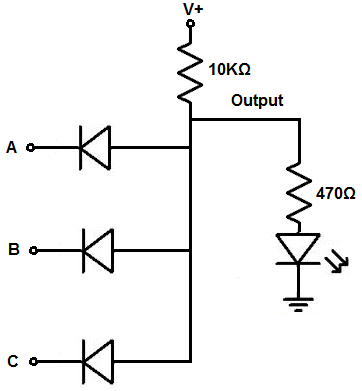 How to Build a Diode AND Gate Circuit