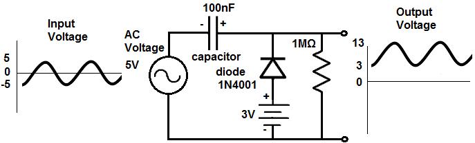 clamping diode ac circuit enthusiast wiring diagrams u2022 rh rasalibre co ac diode circuit analysis Diode Bridge Rectifier