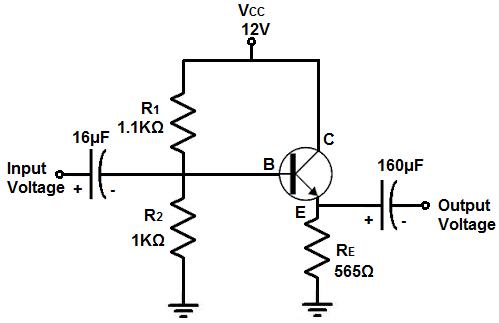 how to build an emitter follower circuitemitter follower buffer circuit