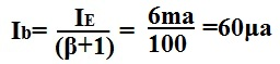 solving for base current ib example