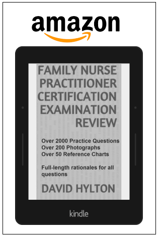 Family nurse-practitioner certification examination review book by David Hylton on amazon