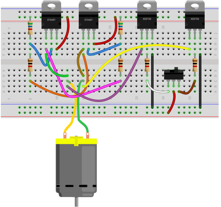 Wiring Of An H Bridge - Wiring Diagrams on