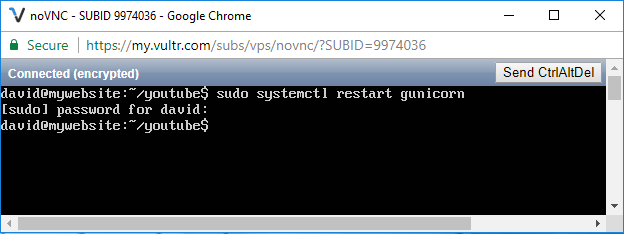 How to restart gunicorn in linux
