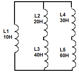 Inductors in series and in parallel