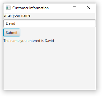 How to Retrieve Data from a Text Field in JavaFX