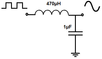 LC resonant circuit