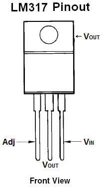 How To Connect An Adjustable Voltage Regulator on 3 pin variable resistor datasheet