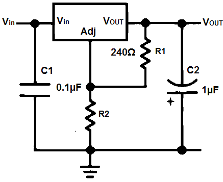 lm337 circuit schematic diagram