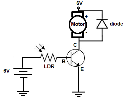 How to Build a Light-activated Motor Circuit