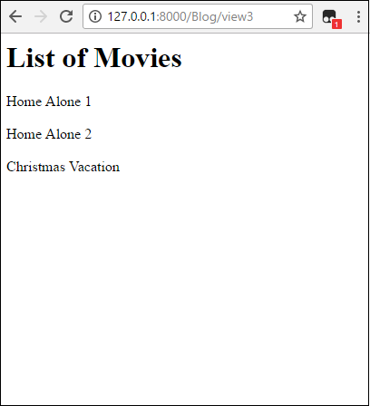 How to create a list view with python in django list view in django pronofoot35fo Gallery