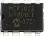 MCP3002 analog-to-digital converter (ADC)