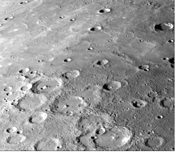 Mercury land surface