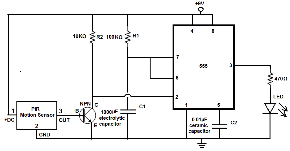 Light Sensing Circuit Diagram Sensorcircuit Circuit Diagram