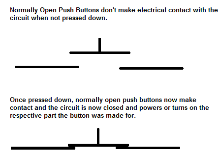 normally closed switch/button? (us) - off topic - linus ... limit switch wiring diagram hydraulic ram