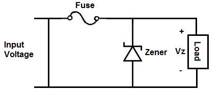 Overvoltage protection circuit schematic