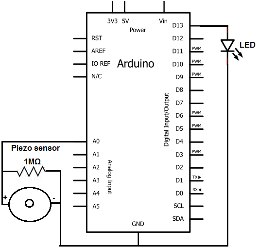 Piezo knock sensor circuit schematic how to build a piezo knock sensor circuit knock sensor wiring diagram at n-0.co