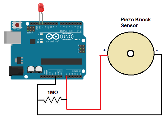 how to build a piezo knock sensor circuit piezo knock sensor circuit