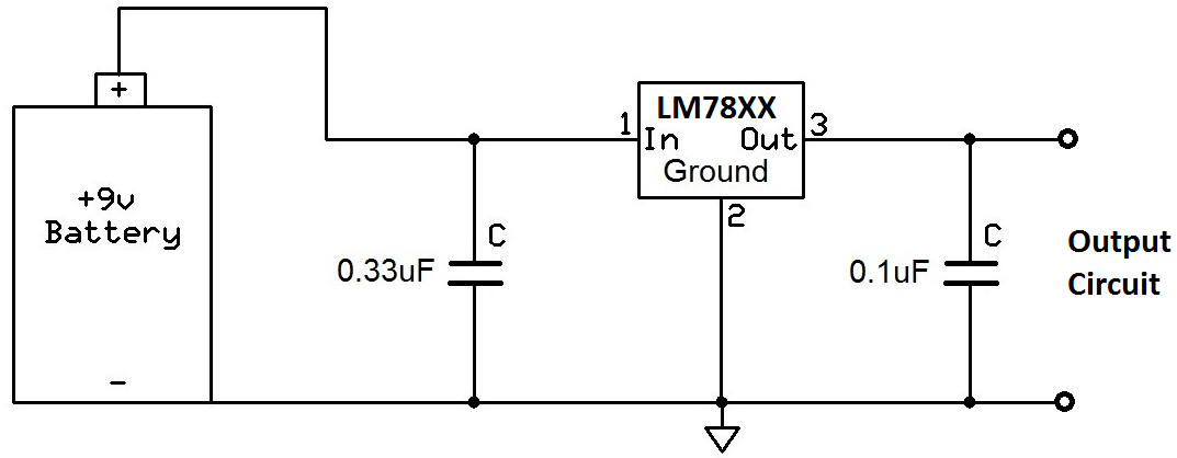 power regulation circuit